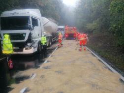Kamion baleset 2