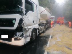 Kamion baleset 4