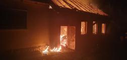 Családi ház égett ki Bakonytamásiban3